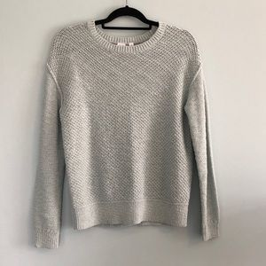 GAP Textured Cable Knit Crewneck Pullover NWOT
